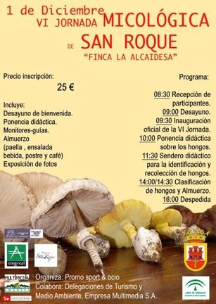 Jornada micologica La Alcaidesa